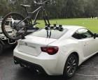 Toyota 86 Bike Rack - the SeaSucker Mini Bomber