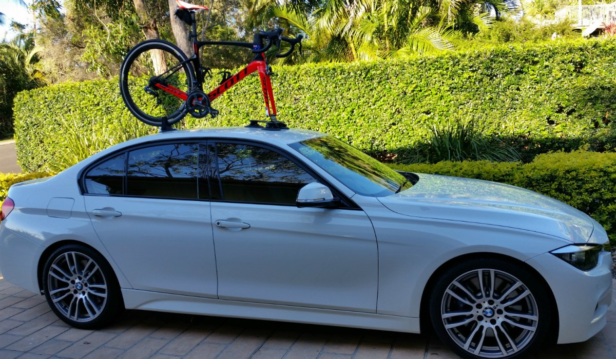 BMW 328i Bike Rack