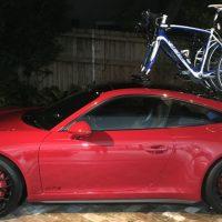 Porsche 911 GTS Bike Rack