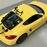 Porsche Cayman S 981 Bike Rack - Part 2