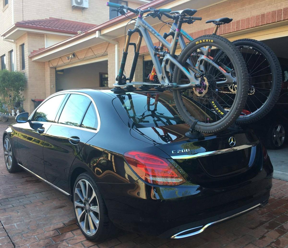 Mercedes C200 Bike Rack