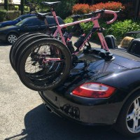 Porsche Boxster Bike Rack