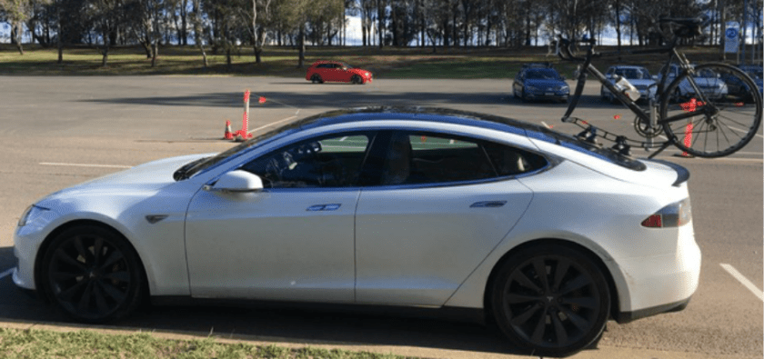 Tesla Model S Bike Rack - The SeaSucker Komodo