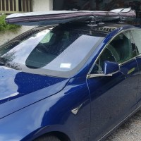 Tesla Model S Board Rack