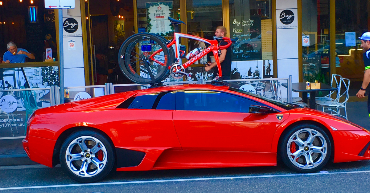 Lamborghini Murcielago Bike Rack - Part 2