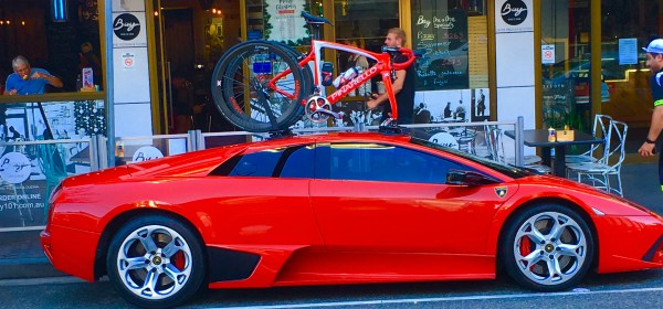 Lamborghini Murcielago Bike Rack - The SeaSucker Mini Bomber