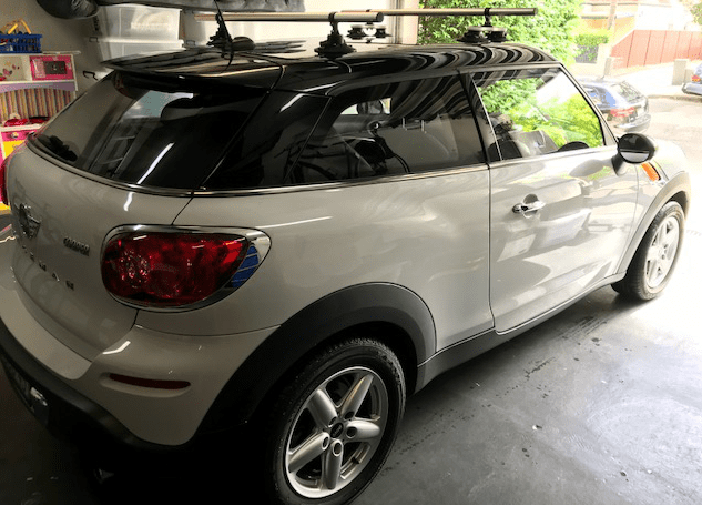 Mini Paceman Roof Rack - The SeaSucker Monkey Bars