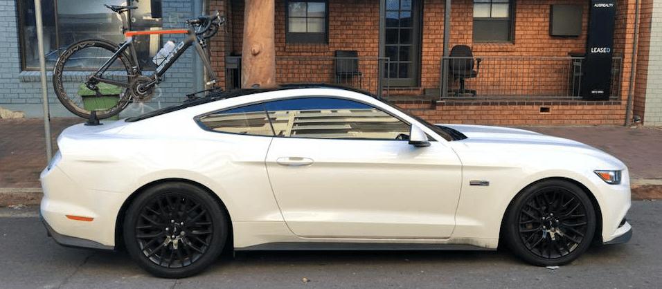 Ford Mustang GT Bike Rack - The SeaSucker Talon