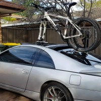 Nissan 300ZX Bike Rack