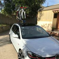 VW Golf GTI Bike Rack