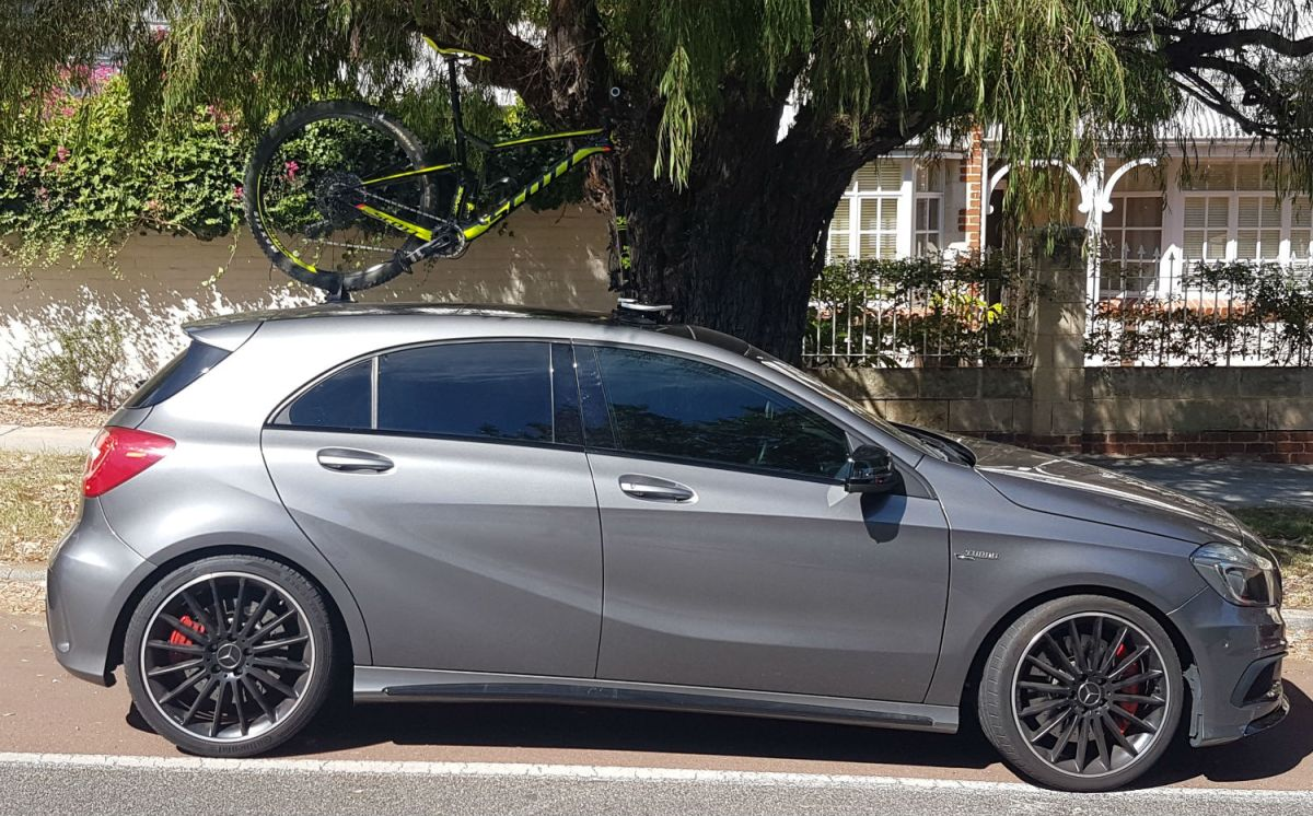 Mercedes A45 AMG Bike Rack