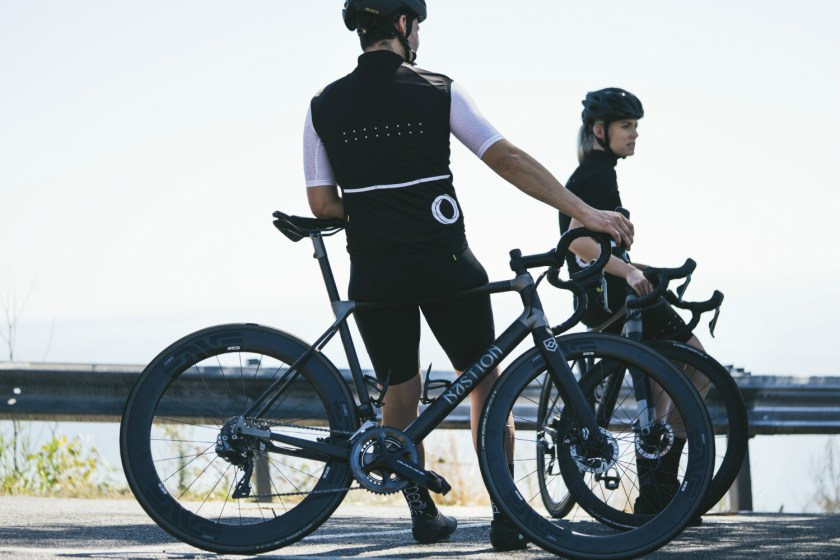 Bastion Cycles cyclists riding their bespoke bikes