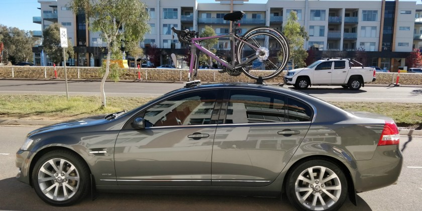 Holden VE Berlina Bike Rack - The SeaSucker Mini Bomber