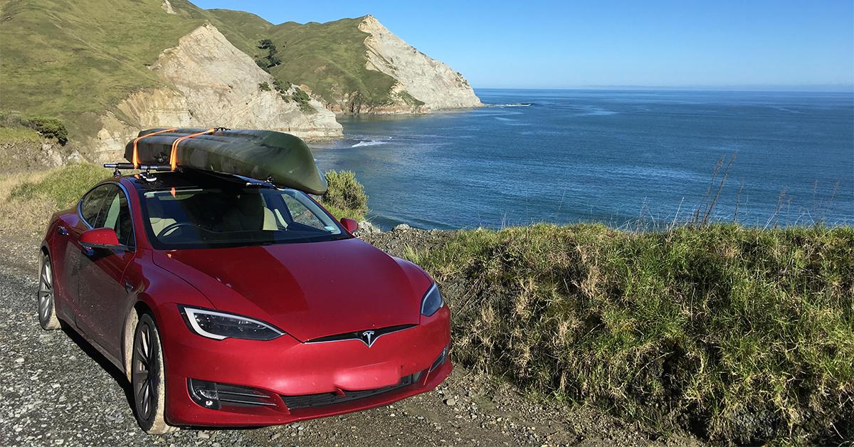 Tesla Model S - SeaSucker Monkey Bars
