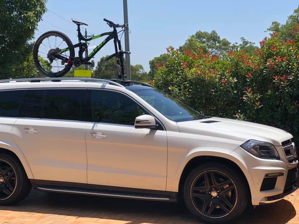 Mercedes GL350 Bike Rack