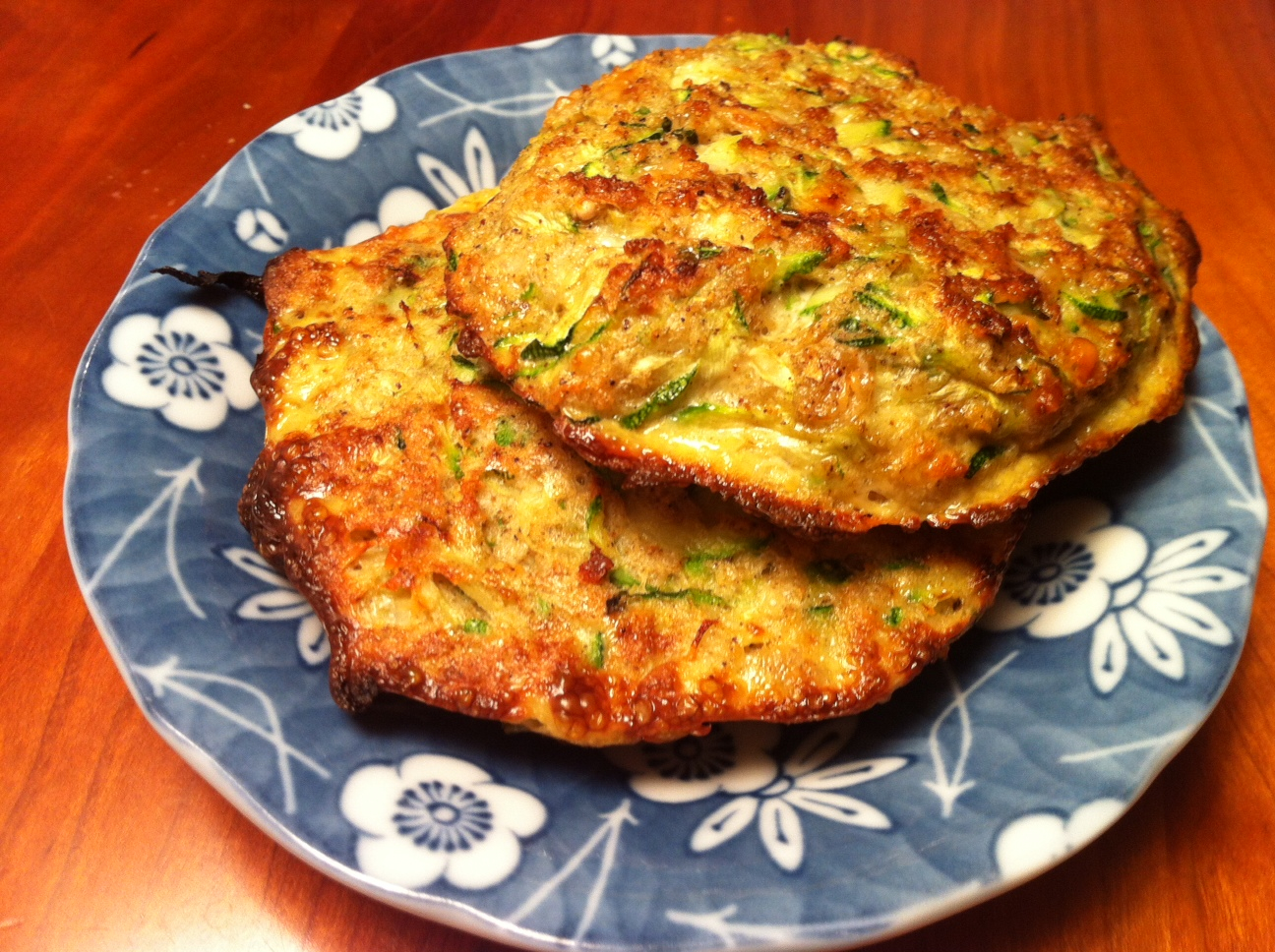 Savory Zucchini Cakes A Seat At The Table
