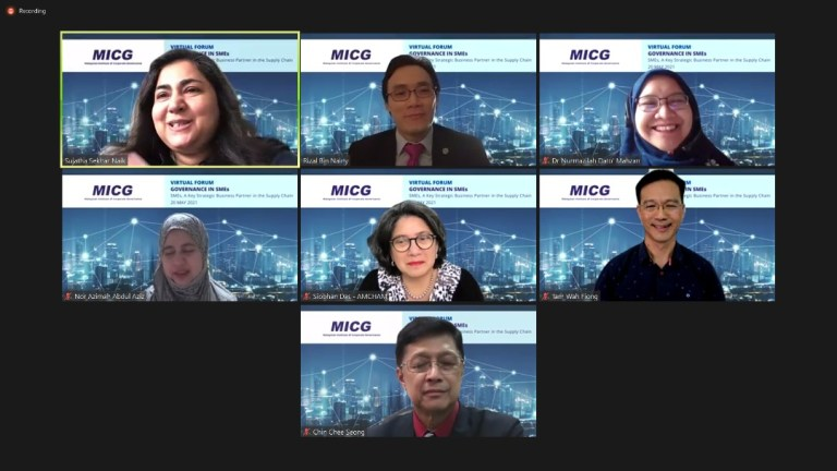 Governance in SMEs Virtual Forum
