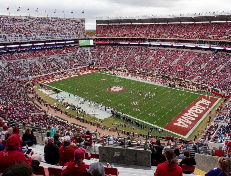 Bryant-Denny Stadium Parking Lots U 4 Pp Seat Views | SeatGeek