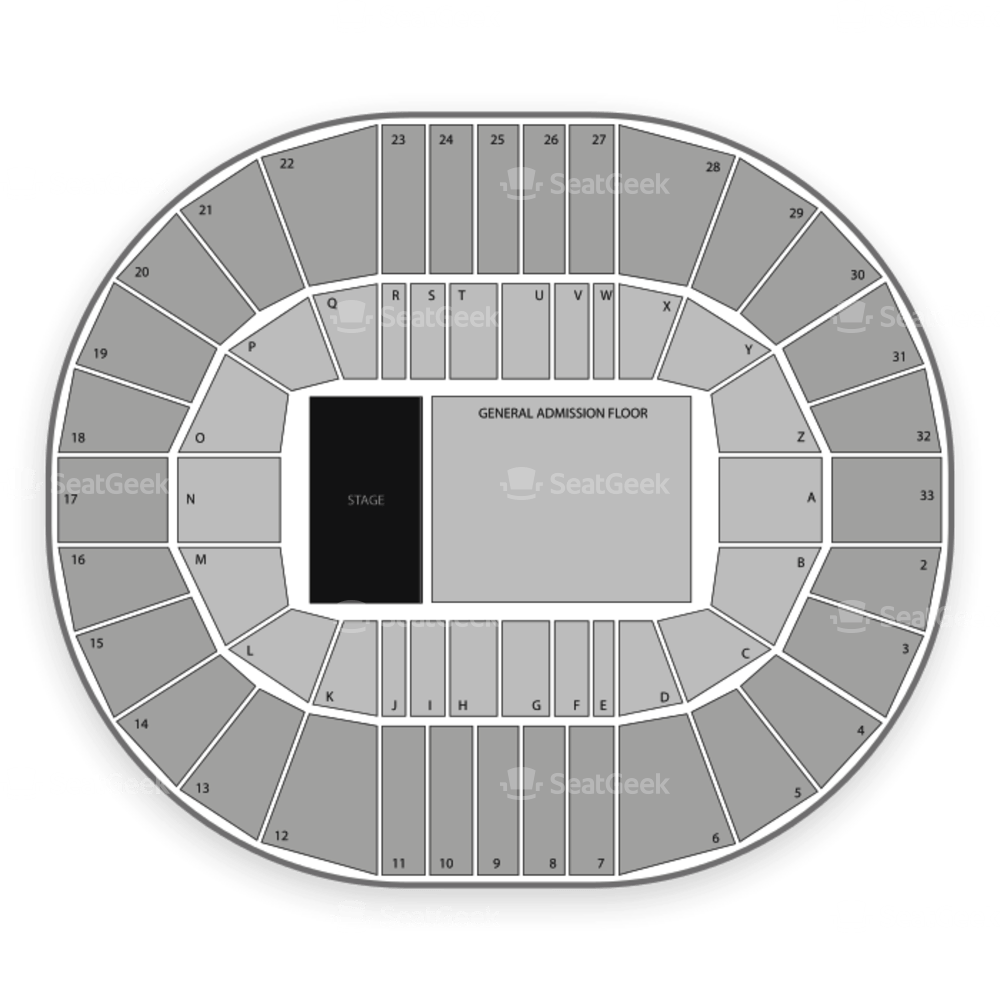 Gorge Amphitheater Seating Chart Wallseatco
