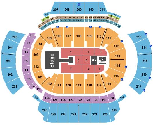 Atlanta Symphony Hall Interactive Seating Chart ...