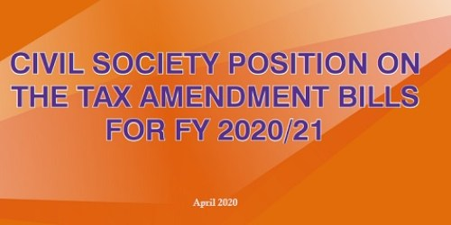 CSO Position on the Tax Amendment Bills for FY 2020-21