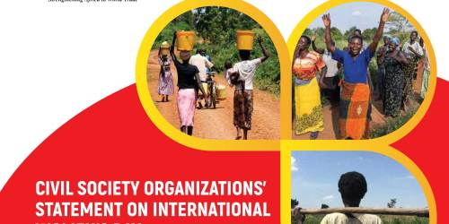 CSO Statement on ''Life Before Profits: Uganda's Investment Frameworks and the Proliferating Human (WOMEN) Rights Violations.''