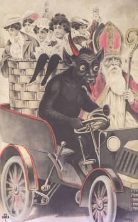 Krampus the biker