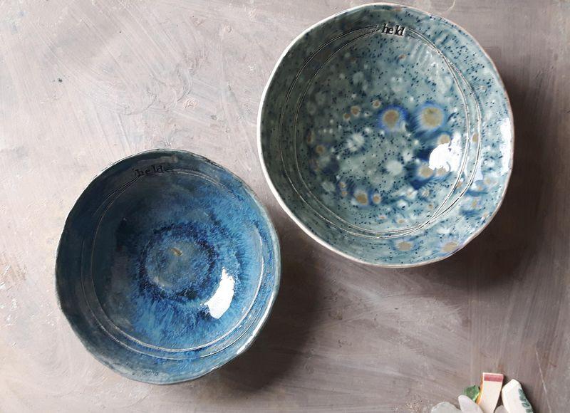 Held bowls