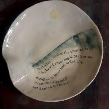 Poetry bowl (medium)