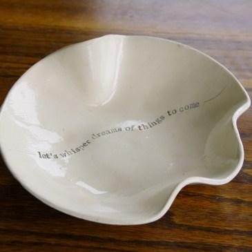 Medium poetry bowl