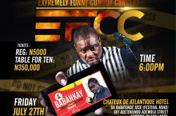 BABAH KAY LIVE in Extremely Funny Comedy Concert (E.F.C.C)