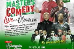 Masters of Comedy Live in Olowoira