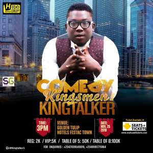 Comedy Kingsmen With Kingtalker