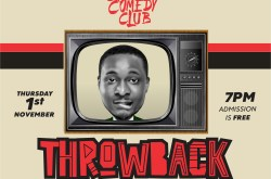 Craze Comedy Club, Throwback Edition