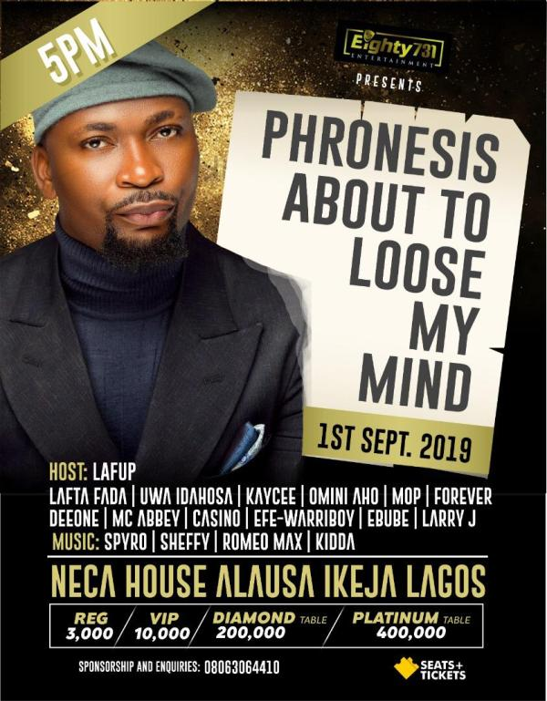 Phronesis About To Loose My Mind
