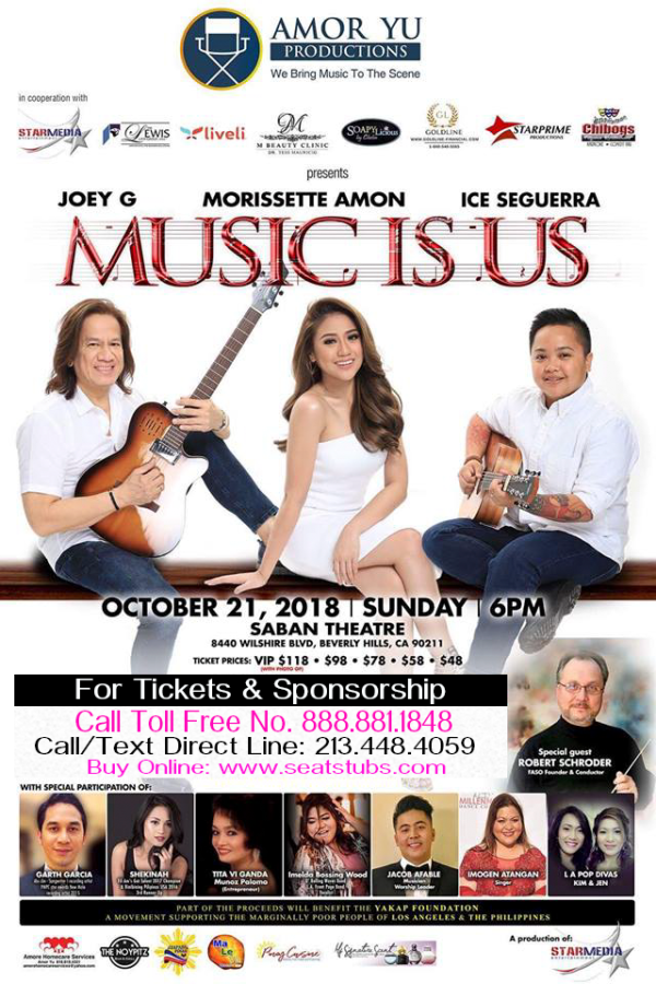 Music Is Us Tickets