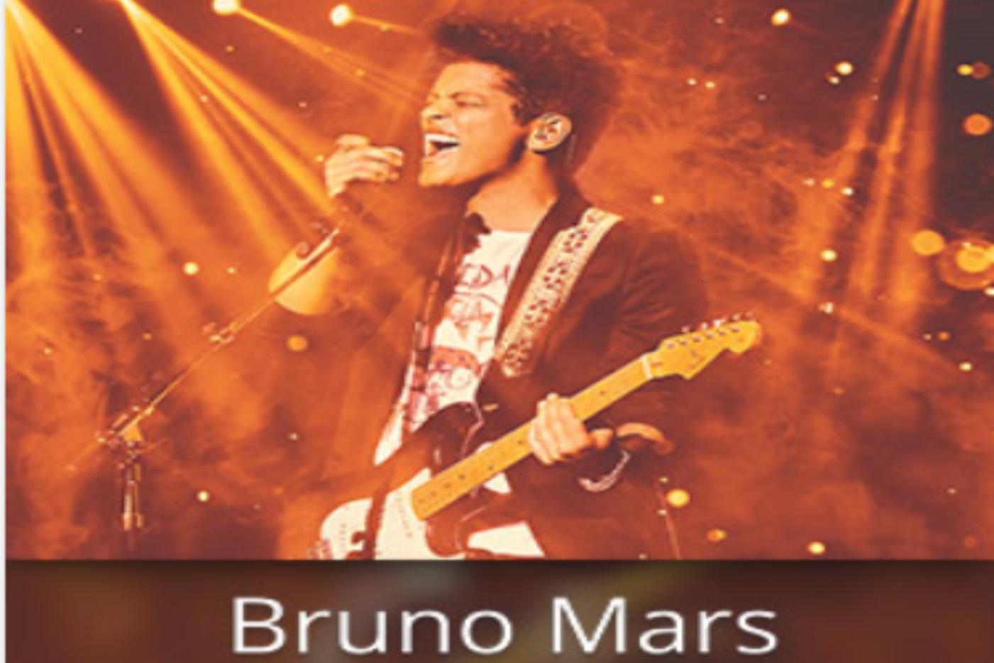 Bruno Mars World Tour Schedule and Tickets - Seat Stubs