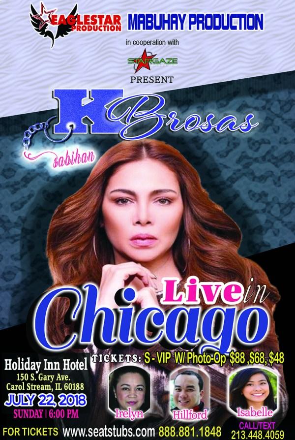 K Brosas Live In Chicago July 22 2018 Holiday Inn Hotel