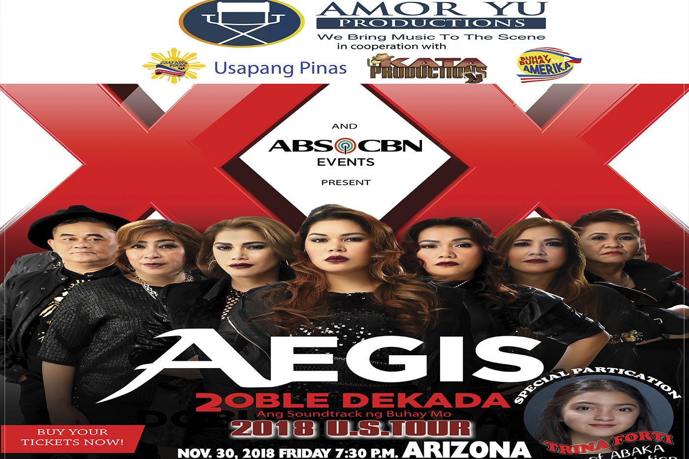 The Aegis Band Live In Wild Horse Pass Casino Chandler Arizona Nov. 30, 2018