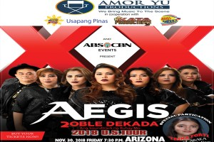 The Aegis Band Live In Wild Horse Pass Casino Chandler Arizona Nov. 30, 2018