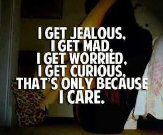 Jealous reasons