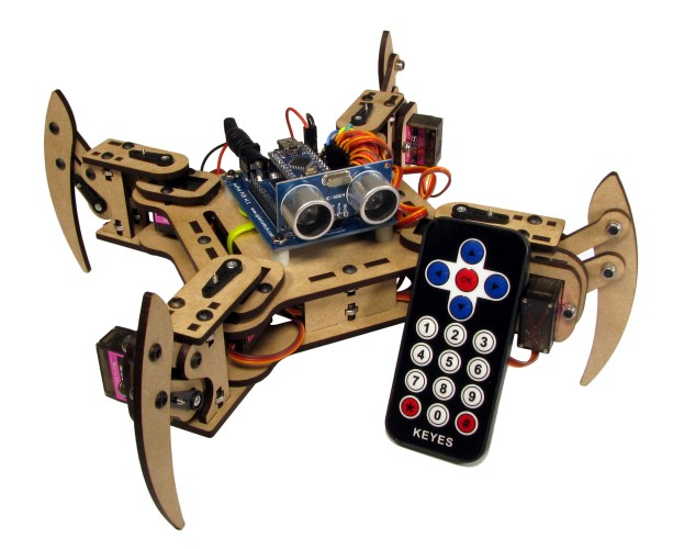 mePed Quadruped Robot