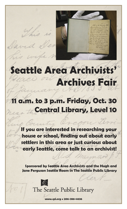 Archives Fair Poster