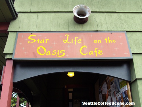 Coffee in Seattle:Star Life on The Oasis Café
