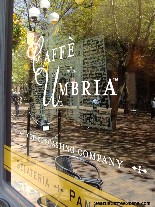Caffé Umbria, Pioneer Square, Seattle Coffee