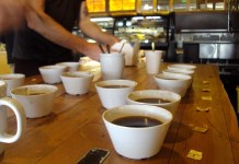 seattle coffee, cupping, coffee cupping