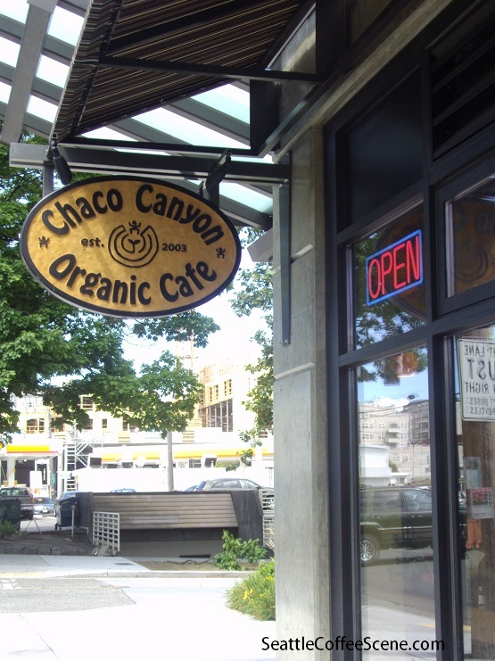 seattle coffee, chaco canyon, chaco canyon west seattle, organic cafe seattle