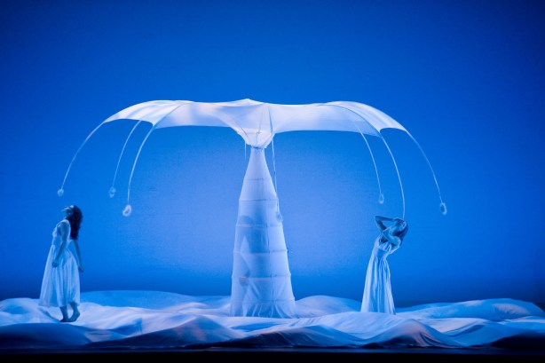 MOMIX dancers perform in Botanica Photo by Don Perdue