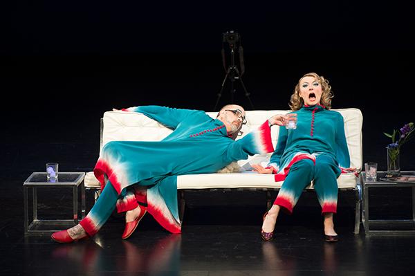 Marya Sea Kaminski and Mark Mitchell  Photo by Chona Kasinger