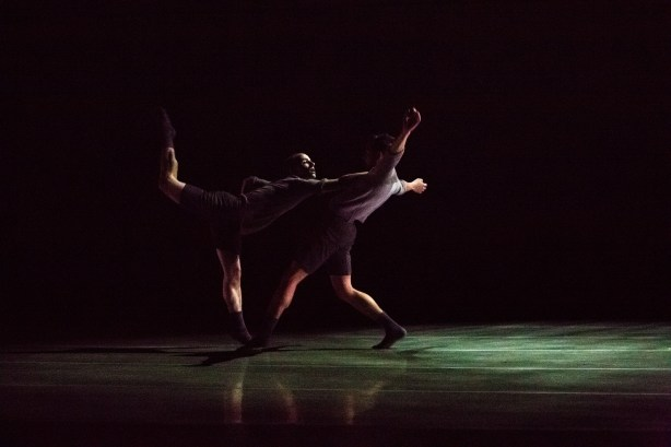 Jim Kent and Justin Reiter in Olivier Wevers' We are not the same Photo by Bamberg Fine Art